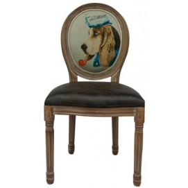 Стул ART Beagle 5KS24501 коричневый Собака Prestol