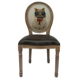 Стул ART Cat 5KS24501 коричневый Кот Tomebel
