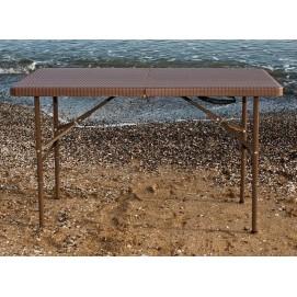 Стол складной PLTR - 12200 коричневый Onder 2018