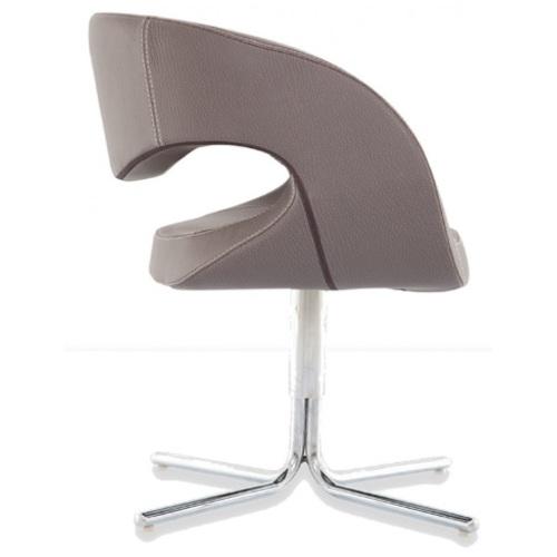 Кресло PERGE / PRG01 серое Caris