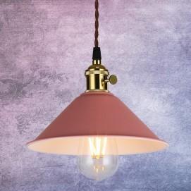 Лампа подвесная 7529510 розовая Thexata 2018