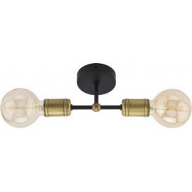 Люстра потолочная RETRO 1902 черная TK Lighting