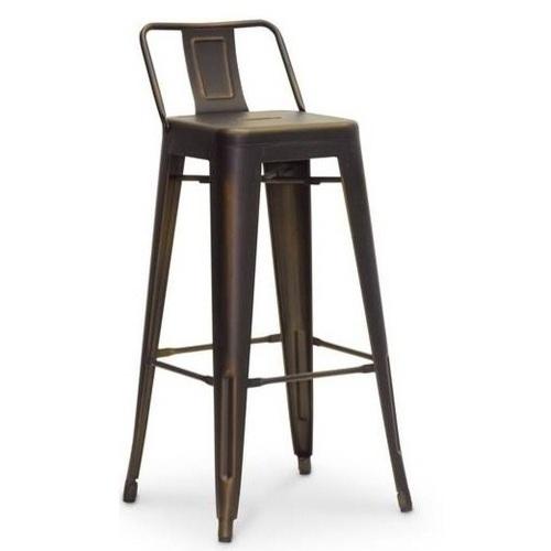 Кресло полубарное Tolix MC-011Р графит Primel