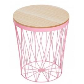 Стол кофейный Storage II розовый 37544 Invicta 2018