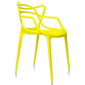 Стул pp-601 Flower желтый Exouse