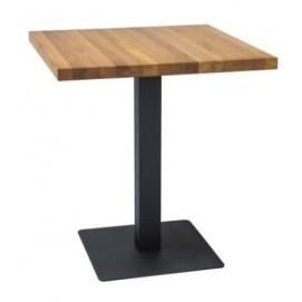 Стол обеденный Puro 70 см натуральный дуб Signal