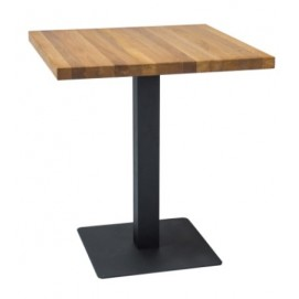 Стол обеденный Puro 60 см натуральный дуб Signal