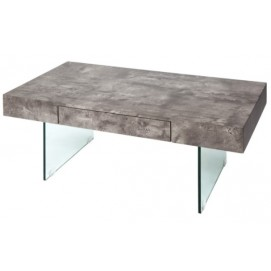 Стол журнальный Floating 110cm серый бетон 38101 Invicta 2018