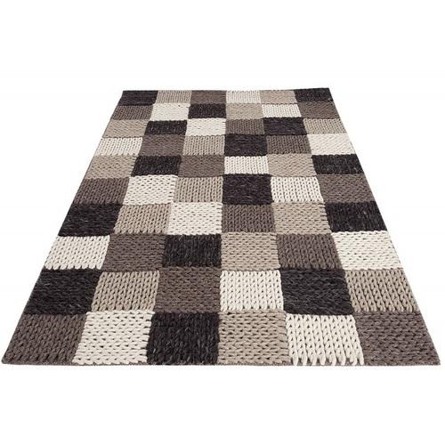 Ковер Yarn III 200x120cm коричневый 38252 Invicta 2018
