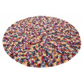 Ковер Felt Ball 100cm цветной 38251 Invicta 2018