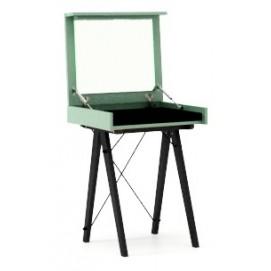 Стол туалетный MINI зеленый ноги черные Minko