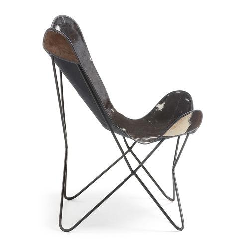Кресло бабочка CC0352P60 - FLYNN черное Laforma 2018