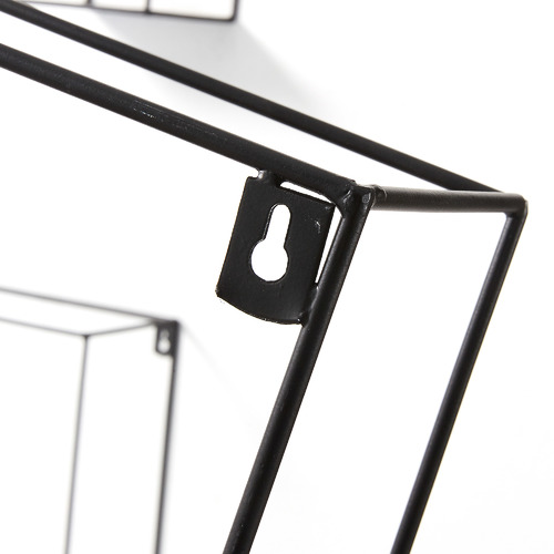 Набор полок AA1596R01 - NETH черная Laforma 2018