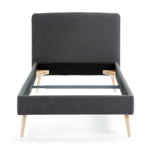 Кровать D037VA02 - LYDIA 90x190 cm графит Laforma 2018