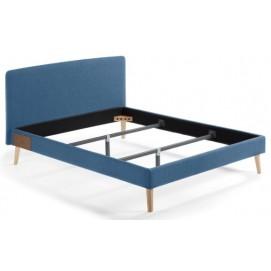 Кровать D038VA25 - LYDIA 150x190 cm синяя Laforma 2018