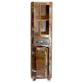 Витрина FRIDGE 02605-98 коричневая Sit Moebel