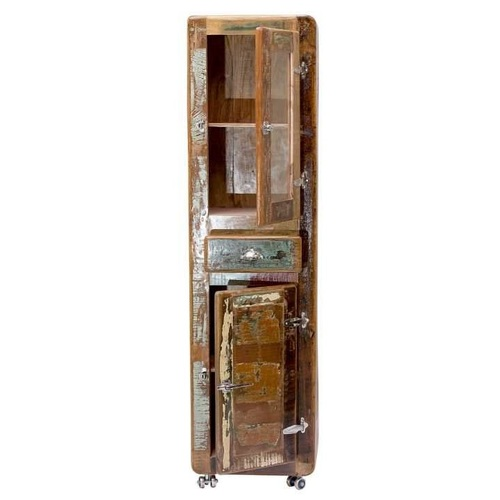 Витрина FRIDGE 02606-98 коричневая Sit Moebel