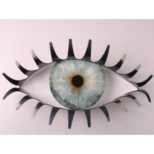Вешалка Глаза малая серая БЗЫК