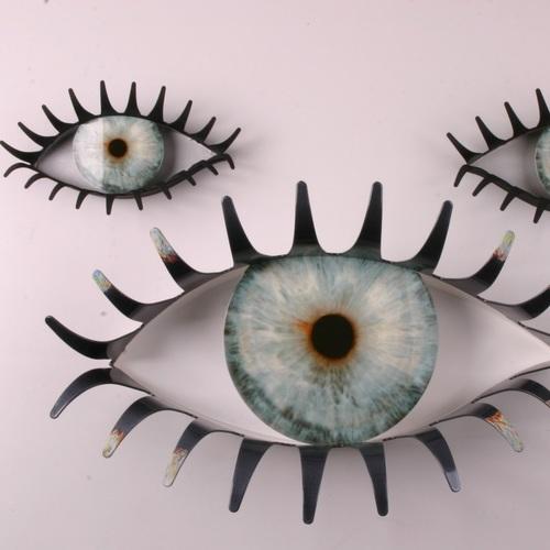 Вешалка Глаза малая большая БЗЫК