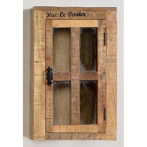 Шкаф навесной RUSTIC 01902-04 натуральный Sit Moebel
