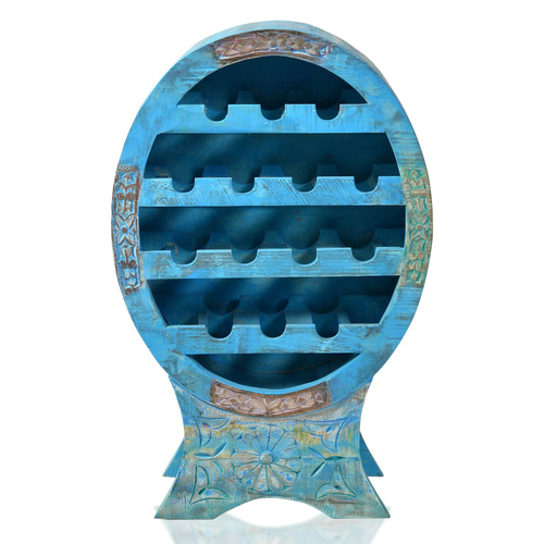 Подставка под бутылки BLUE 01237-13 голубая Sit Moebel