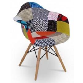 Кресло UGO Patchwork малое цветное Frost