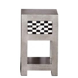 Подставка METAL & BONE 01379-97 серебро Sit Moebel