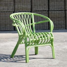 Кресло RATTAN 05314-32 зеленое Sit Moebel