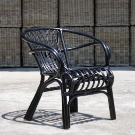 Кресло RATTAN 05314-11 черное Sit Moebel