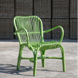 Кресло RATTAN 05315-32 зеленое Sit Moebel