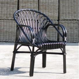 Кресло RATTAN 05316-11 черное Sit Moebel