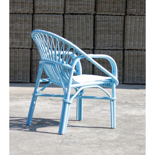 Кресло RATTAN 05316-13 голубое Sit Moebel