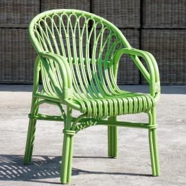 Кресло RATTAN 05316-32 зеленое Sit Moebel