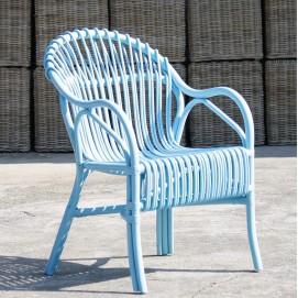 Кресло RATTAN 05317-13 голубое Sit Moebel