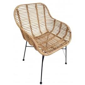 Кресло RATTAN 05340-01 натуральное Sit Moebel