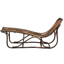 Лежак RATTAN 05323-04 коричневый Sit Moebel