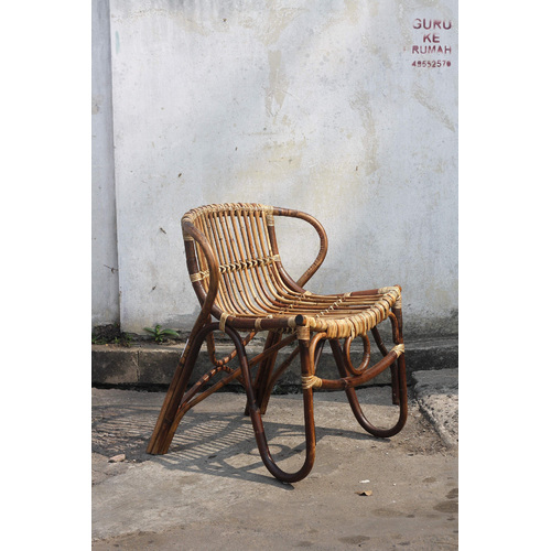Стул RATTAN 05321-04 коричневый Sit Moebel