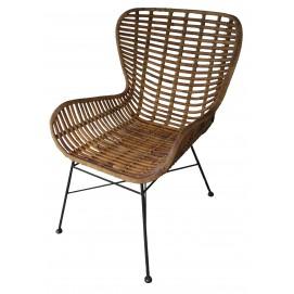 Кресло RATTAN 05325-04 коричневое Sit Moebel