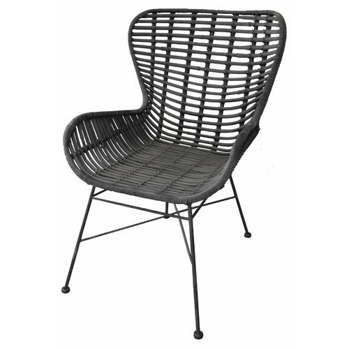 Кресло RATTAN 05325-11 черное Sit Moebel
