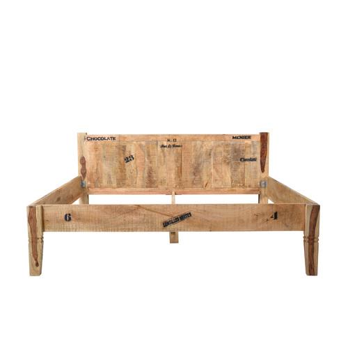 Кровать RUSTIC 01958-04 180*200 см натуральная Sit Moebel