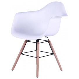 Кресло SIT&CHAIRS 02424-10 белое Sit Moebel