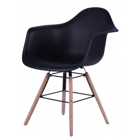Кресло SIT&CHAIRS 02424-11 черное Sit Moebel