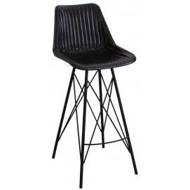 Стул барный SIT&CHAIRS 04752-11 черный Sit Moebel