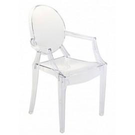 Кресло SOFIA прозрачное Frost