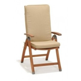 Кресло складной CATIA натуральное Frost