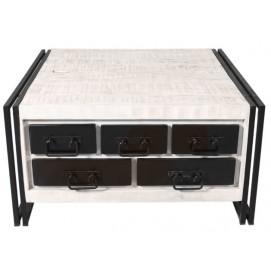 Стол кофейный (White Panama) 07394-10 белый Sit Moebel