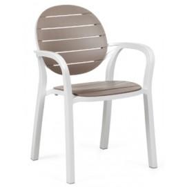Кресло Palma 40237.00.010 бело-коричневое Nardi