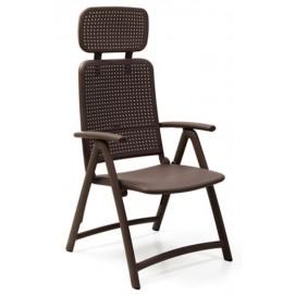 Кресло складное  Acquamarina 40314.05.000 коричневое Nardi