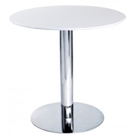Стол круглый TUL белый 80 см Mebelmodern