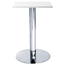 Стол барный высокий Алор1 белый Mebelmodern